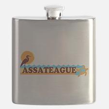 Assateague Island MD - Beach Design. Flask