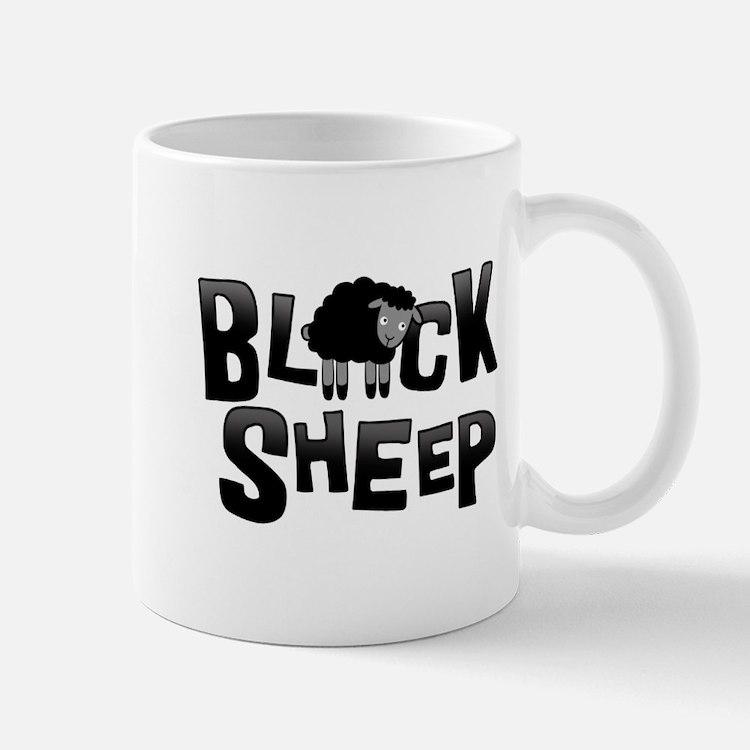 Black Sheep Dark Mug