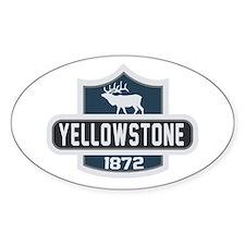 Yellowstone Nature Badge Decal