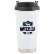 Yellowstone Nature Badge Travel Mug