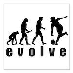 Evolve Bowling Square Car Magnet 3