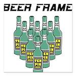 FIN-beeer-frame.png Square Car Magnet 3