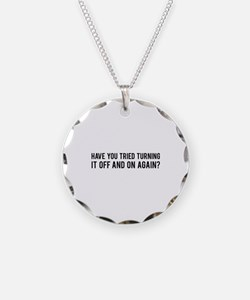 Off and On Necklace