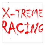 Extreme Racing Square Car Magnet 3