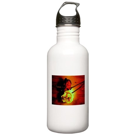 ONU Two Roses Art Stainless Water Bottle 1.0L