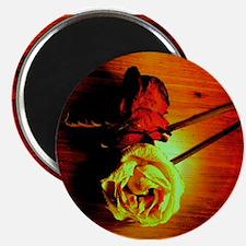 "ONU Two Roses Art 2.25"" Magnet (100 pack)"
