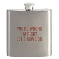 You're Wrong. I'm Rright. Let's Move On. Flask