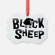 Black Sheep Dark Ornament