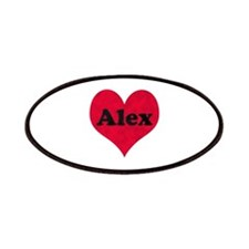Alex Leather Heart Patch