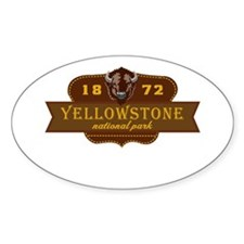 Yellowstone National Park Crest Decal