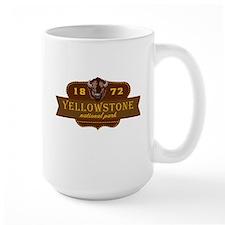 Yellowstone National Park Crest Mug