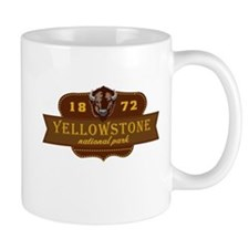Yellowstone National Park Crest Mug