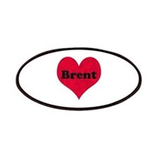 Brent Leather Heart Patch