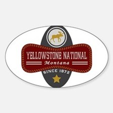 Yellowstone Natural Marquis Decal