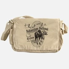 Yellowstone Vintage Moose Messenger Bag