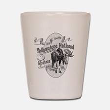 Yellowstone Vintage Moose Shot Glass