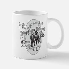 Yellowstone Vintage Moose Mug