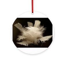 ONU Feather Art Ornament (Round)