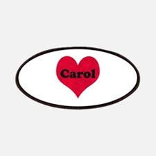 Carol Leather Heart Patch