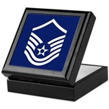 Air force master sergeant Keepsake Boxes
