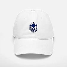 Master Sergeant <BR>White Baseball Baseball Cap