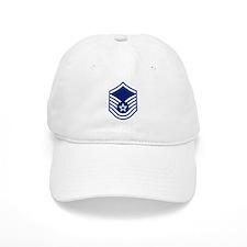 Master Sergeant <BR>White Baseball Cap