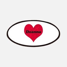 Deanna Leather Heart Patch