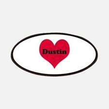 Dustin Leather Heart Patch