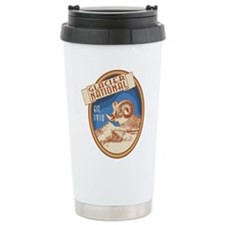 Glacier Bighorn Badge Travel Mug