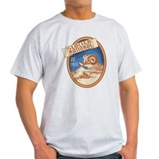 Glacier Bighorn Badge T-Shirt