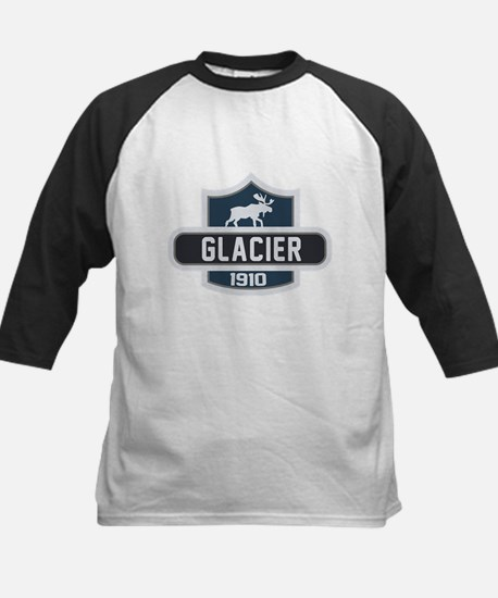 Glacier Nature Badge Kids Baseball Jersey