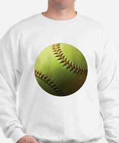 Yellow Softball Sweatshirt