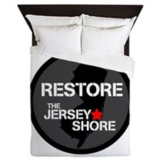 Restore The Jersey Shore Queen Duvet