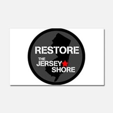 Restore The Jersey Shore Car Magnet 20 x 12