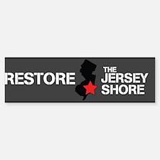 Restore The Jersey Shore Bumper Bumper Sticker
