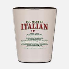 Unique Italian american Shot Glass