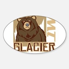 Glacier Grumpy Grizzly Decal