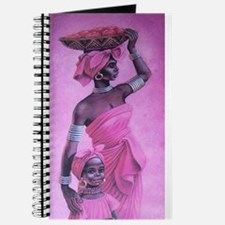 Unique African woman and child Journal