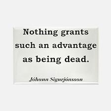 Death's Advantage (English) Rectangle Magnet