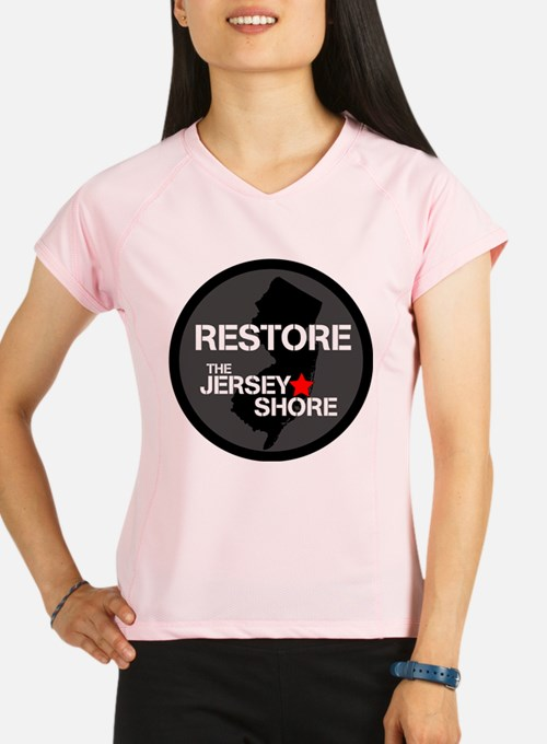 Restore The Jersey Shore Performance Dry T-Shirt