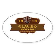 Glacier National Park Crest Decal