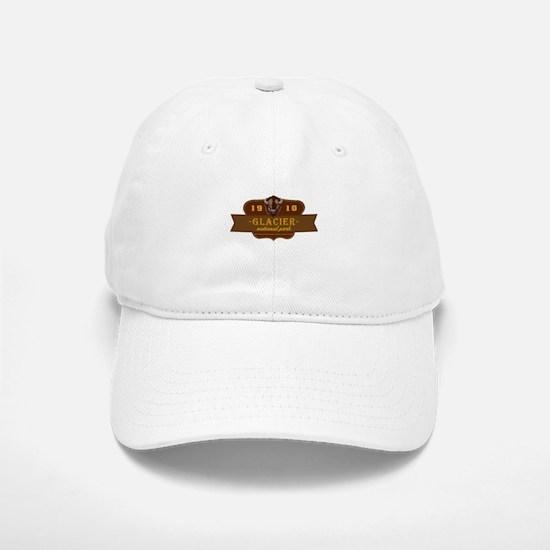 Glacier National Park Crest Baseball Baseball Cap