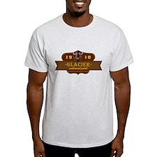 Glacier National Park Crest T-Shirt