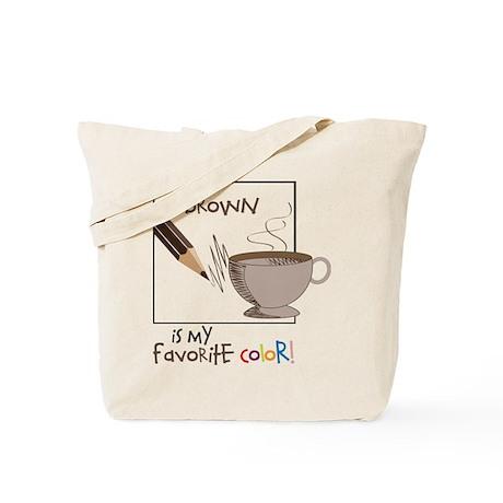 My Favorite Color Tote Bag