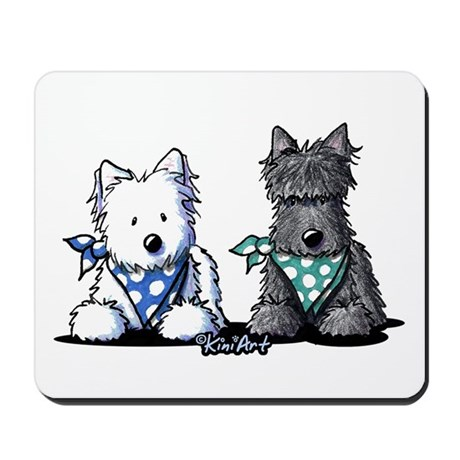 KiniArt™ Terrier Twosome Mousepad