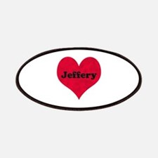 Jeffery Leather Heart Patch