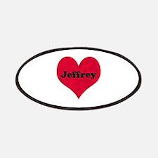 Jeffrey Leather Heart Patch