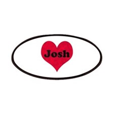 Josh Leather Heart Patch