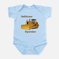 Bulldozer Operator Infant Bodysuit