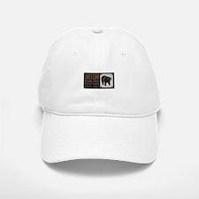 Lewis Clark Black Bear Badge Baseball Baseball Cap